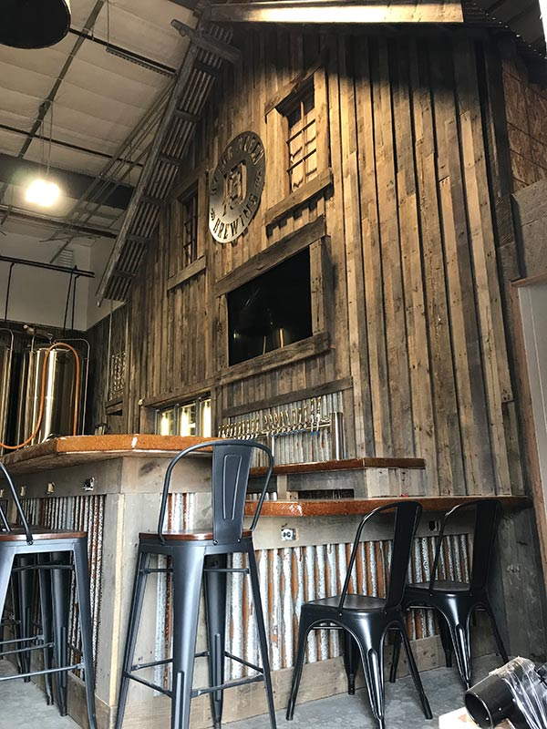 Dying Breed Brewery Taproom Interior